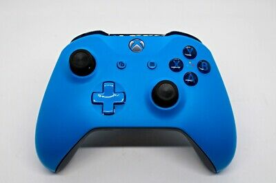 Microsoft Xbox One Wireless Controller 1708 BLUE - Brand New Thumbsticks