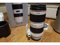 Canon 70-200 f2.8 mark ii Mint condition