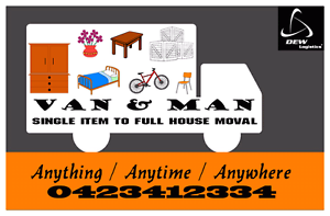 Man with Van for hire ~House mover /Delivery guy Hoppers Crossing Wyndham Area Preview