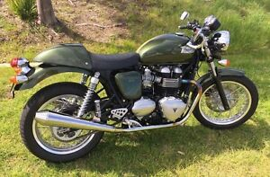 2013 Triumph Thruxton 900 Aberglasslyn Maitland Area Preview