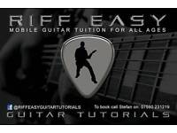 PROFESSIONAL MOBILE GUITAR LESSONS