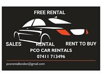 Car Hire Rent To Buy Car Rentals PCO Registered