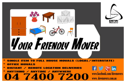 DEW Movers ~ Removalist / Delivery specialist