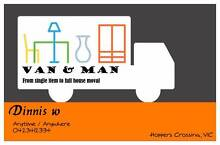 Man with van for hire Hoppers Crossing Wyndham Area Preview