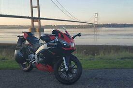 aprilia rs4 125cc red/black £2000 ono