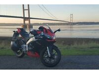 aprilia rs4 125cc red/black £2000 ono