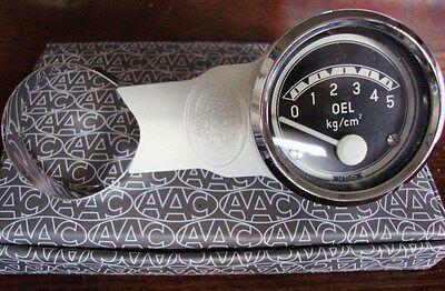 Motometer Calibre Soporte Para VW Escarabajo Ghia Dividido Porsche 356 Marfil