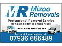 Mizoo Removals Norfolk & Sufflok Nationwide man and van House Clearance