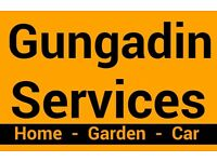Gungadin Services. Maintenance for the home, garden and car.