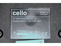 Cello 24'' LED SMART TV with Freeview