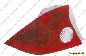 Tail Light Driver Side Coupe High Quality Honda Civic 2004-2005