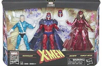 Marvel Legends Series - Family Matters - Magneto, Quicksilver, Scarlet Witch