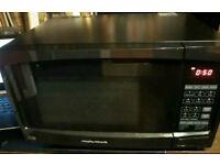 Morphy Richards Combination Microwave ES823ENN - Black