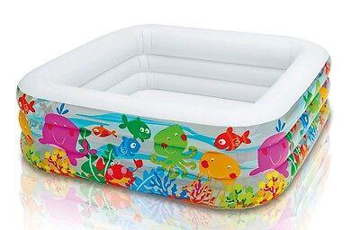 INTEX 57471 Planschbecken Kinderpool Clearview Aquarium Swimmingpool Familienpoo