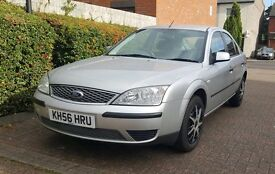 FORD MONDEO LX * 2007 MODEL * 1 FORMER KEEPER * 66000 MILEAGE * VERY GOOD CONDITION * £1050