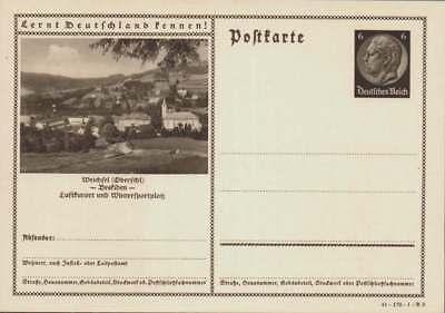 D.Reich Ganzsache P 236 WEICHSEL ungebraucht (43430)