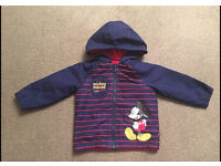 Boys Mickey Mouse Coat 12-18month