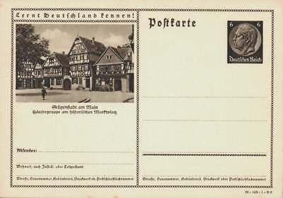 D.Reich Ganzsache P 236 SELIGENSTADT AM MAIN ungebraucht  (43603)