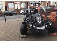 PGO QUADZILLA 200cc buggy - road legal - not quad yzf rmz rm kx r1 125 250cc raptor cr yamaha suzuki