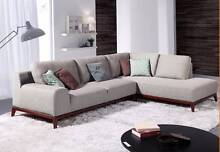 【Brand New】Hampton Solid Timber Frame Fabric Corner Sofa Nunawading Whitehorse Area Preview