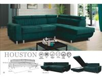 🍁🍁CLEARANCE STOCK MUST GO🍁🍁BRAND NEW HOUSTON SOFA BED🍁🍁AVAILABLE NOW🍁🍁