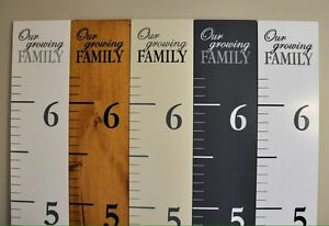 $5 off All Wood Growth Charts!!
