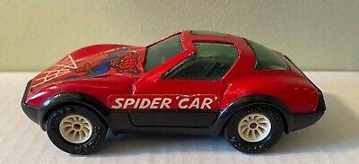 Vintage 1980 Buddy L Spider Car Spider-Man Corvette Preowned