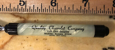 Vintage Quality Chevrolet Company Letter Opener/File Chevy Advertising Car Pearl
