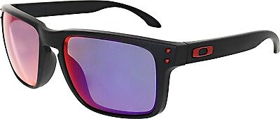 Oakley Men's Mirrored Holbrook OO9102-36 Black Square Sunglasses