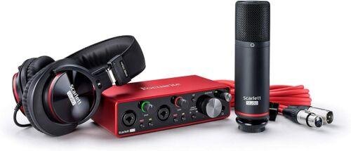 Focusrite scarlet 2i2 studio 3rd generation