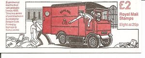 Great-Britain-BK746-Postal-Vehicles-Complete-Booklet