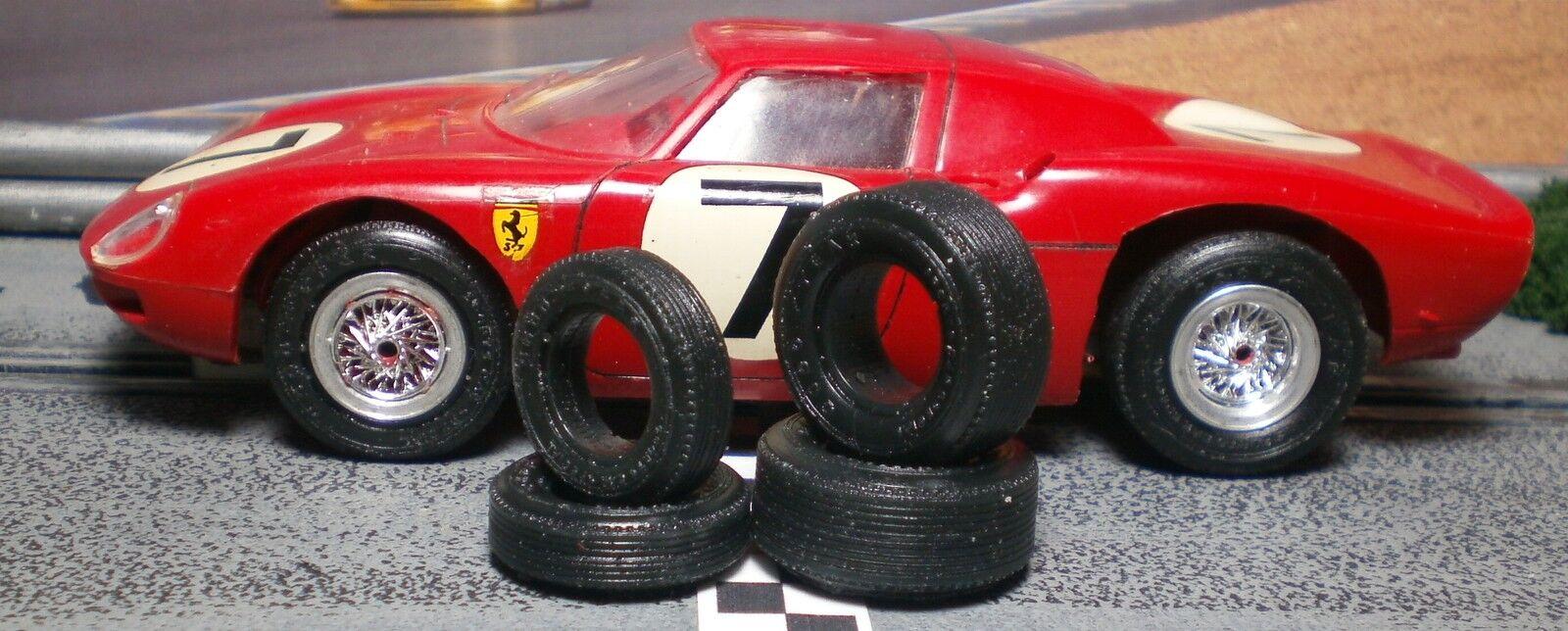 Urethane slot car tires