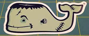 Vineyard Vines Whale Halloween Whale Sticker Decal
