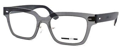 McQ Alexander McQueen MQ0010O 001 Unisex Eyeglasses 50-20-140 Grey / Black