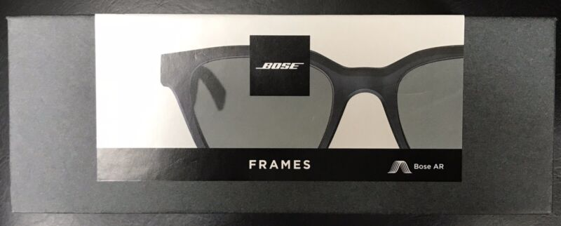 Bose Frames Alto Large Audio Sunglasses Bluetooth Connectivity Black 833416-0100