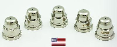 5 Pcs 220329 Fits Hypertherm Powermax 100012501650 40a Aftermarket Nozzle