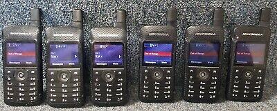 Motorola Sl7550 Uhf Digital Dmr Mototrbo Set Of 6 Radios 430-470 Good 1-4 Sets
