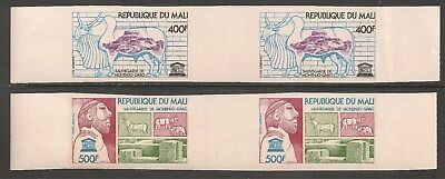 Mali #C287-C288 (AP114) VF MNH IMPERF - 1976 400fr to 500fr UNESCO Excavations