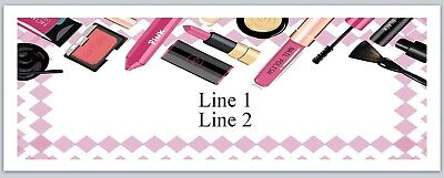 Personalized Address Labels Makeup Lipstick Buy 3 Get 1 Free Jx 524
