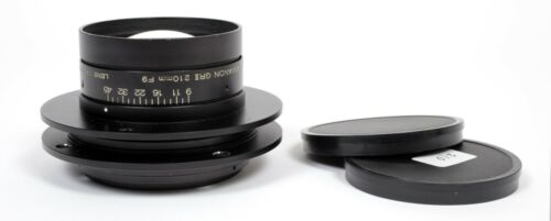 Konica Hexanon GRII 210mm F9 lens (covers 8X10)