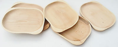 """Wooden plate , 11,5""""  rectangle shaped beechwood serving tray , chopping board"""