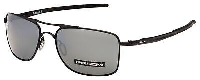 Oakley Gauge 8 M Sunglasses OO4124-0257 Matte Black | Prizm Black Polarized Lens