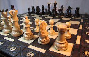 Chess very nice wooden chess board 40 x 40cm ebay - Chess nice image ...