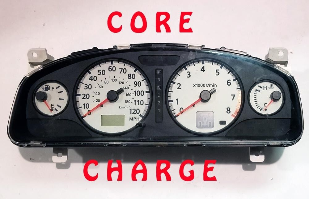 02 03 04 CORE CHARGE FOR NISSAN PATHFINDER SPEEDOMETER CLUSTER 2002 2003 2004