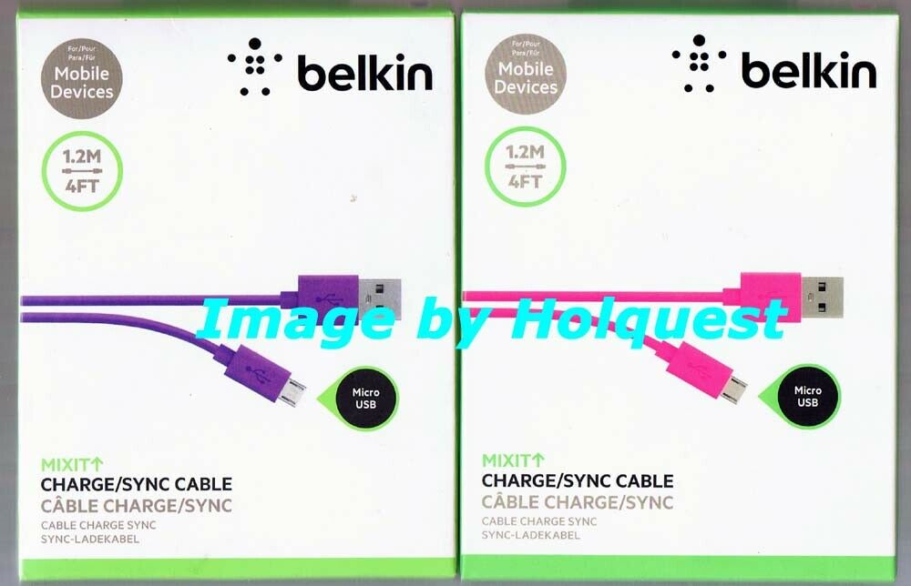 BELKIN MIXIT Micro USB Charge & Sync Cable - Pink