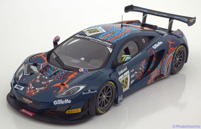 1:18 Minichamps McLaren 12C GT3 #88, 24h Spa 2013 ltd. 504 pcs.