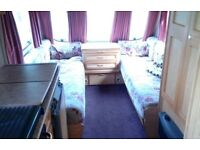 5 berth Swift Blakemere 1999 caravan for sale on seasonal pitch in Hexham