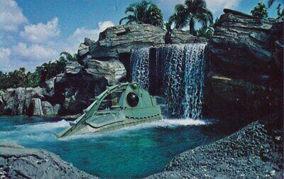 Walt Disney World 20,000 Leagues Under The Sea & Backlot Tour DVD CD Disneyland