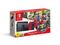 Nintendo switch console mario odessey edition