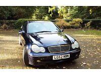 Mercedes Benz C240 Avantgarde Auto 2002 Petrol 2.5L 4 Door Saloon